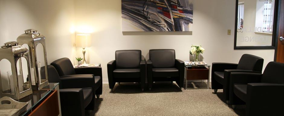 Waiting Room At Snell Motors in Mankato MN