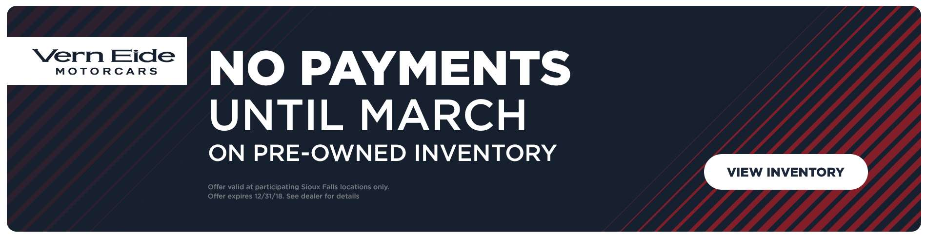 No Payments Till March