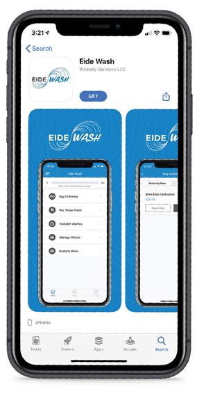 Eide Wash App