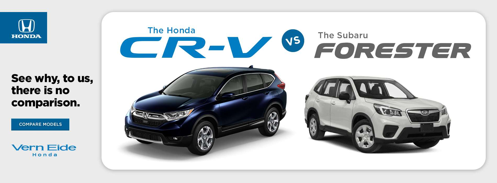 Honda CRV vs Forester