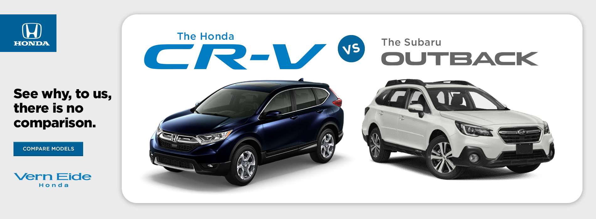 CRV vs Outback