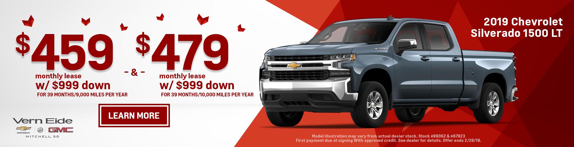GM - Silverado Leases - Feb 2019