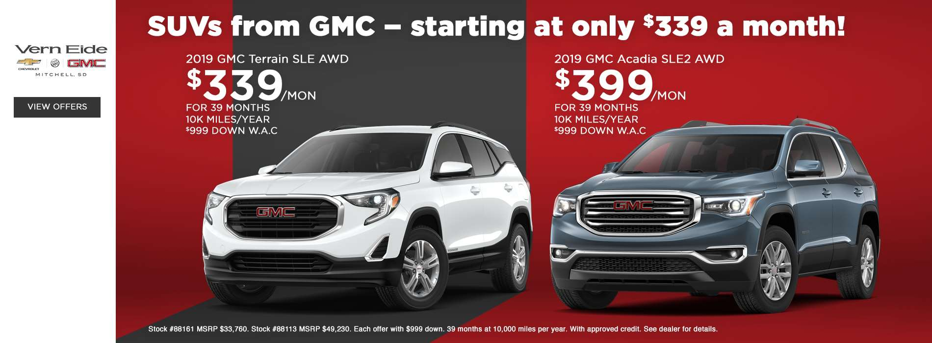 GM - Offers Slide 2 - March 2019