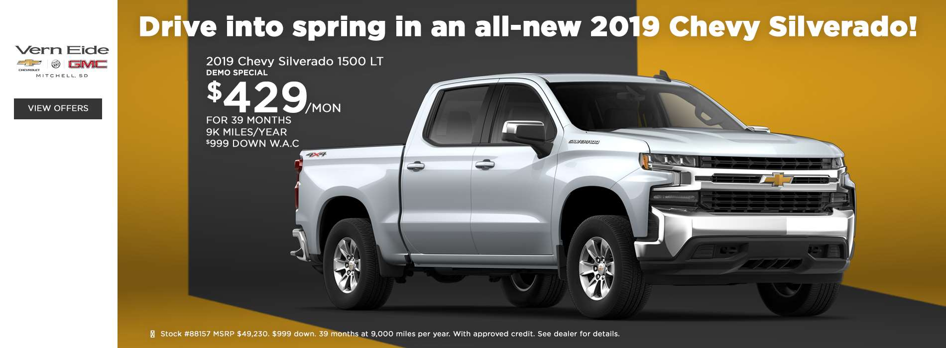 GM - Offers Slide 3 - March 2019