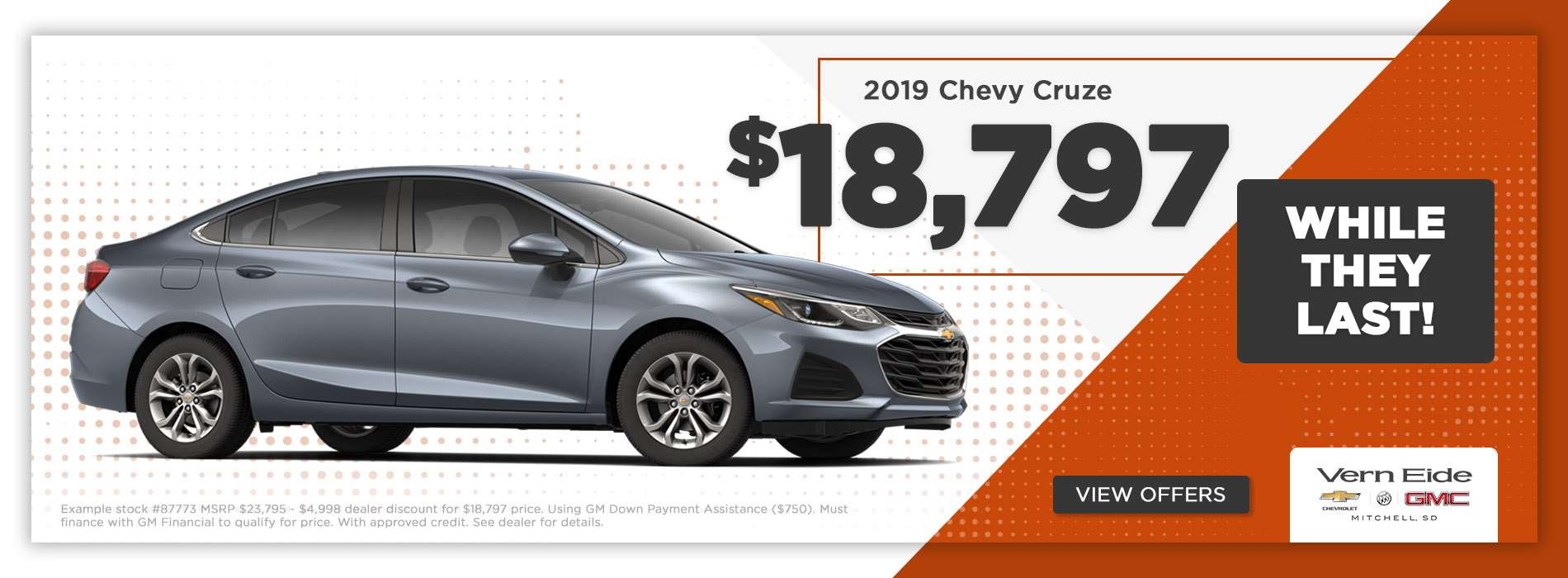 GM - Cruze Offer - May 2019