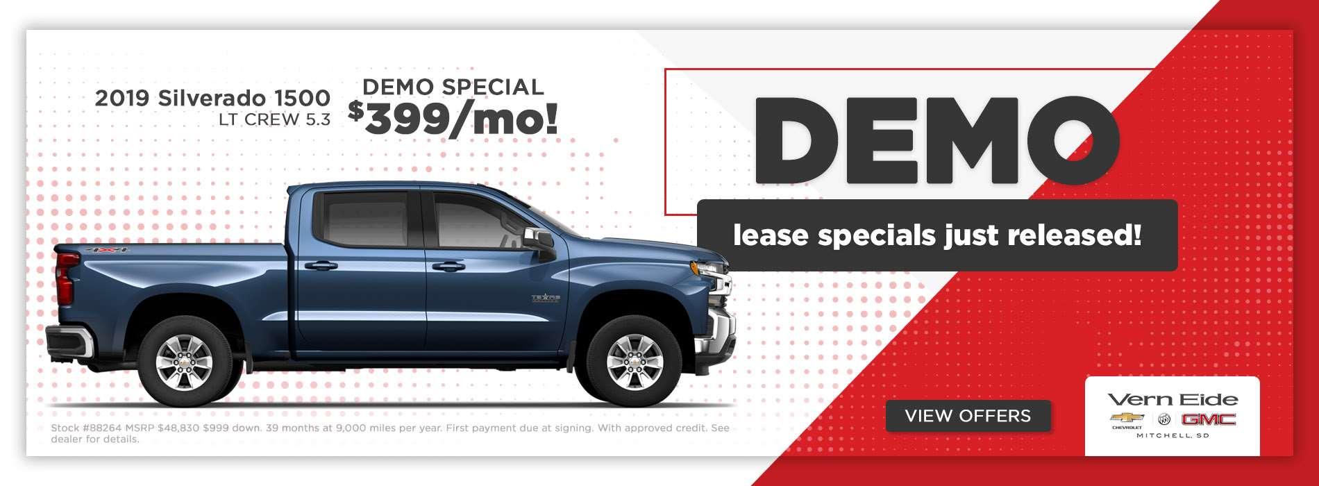 GM - Silverado $399 - May 2019