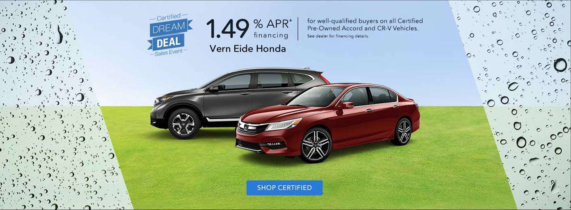 Honda - Certified Dream Deal - Feb-April 2019