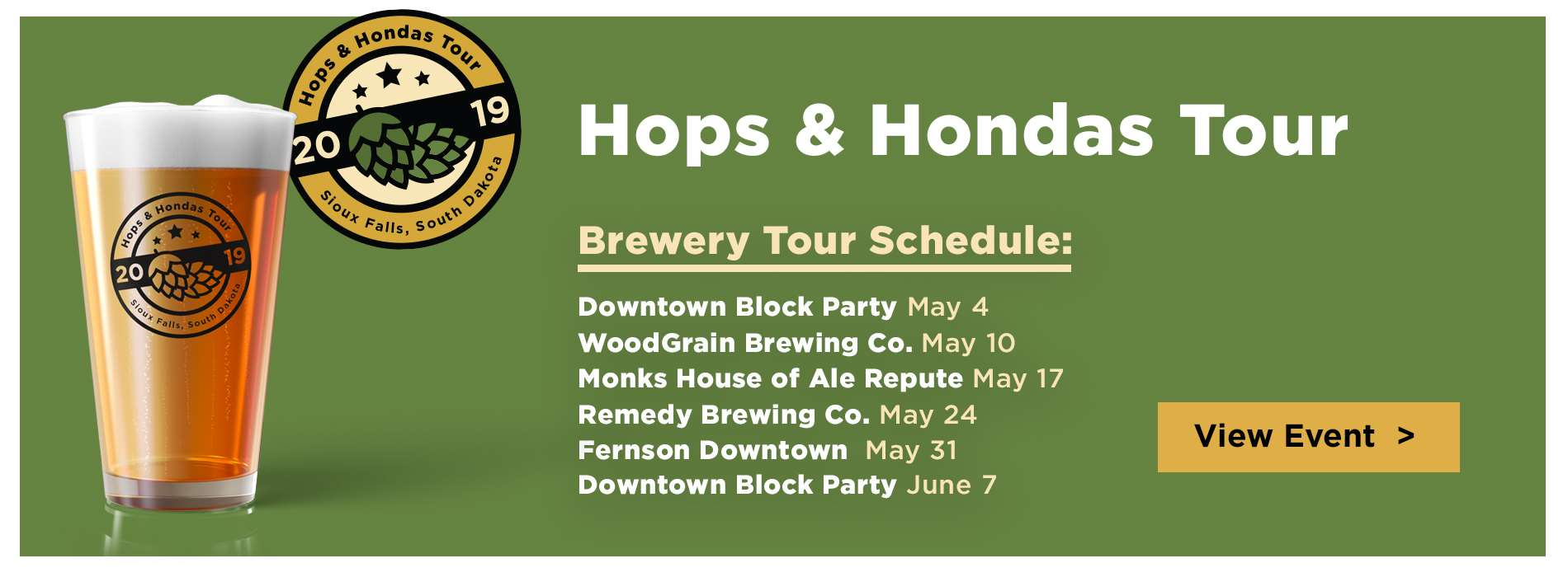 Honda - Hops & Hondas - April 2019