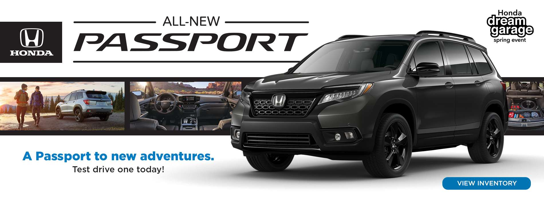 Honda - All-New Passport - Dream Garage Spring Event - April 2019