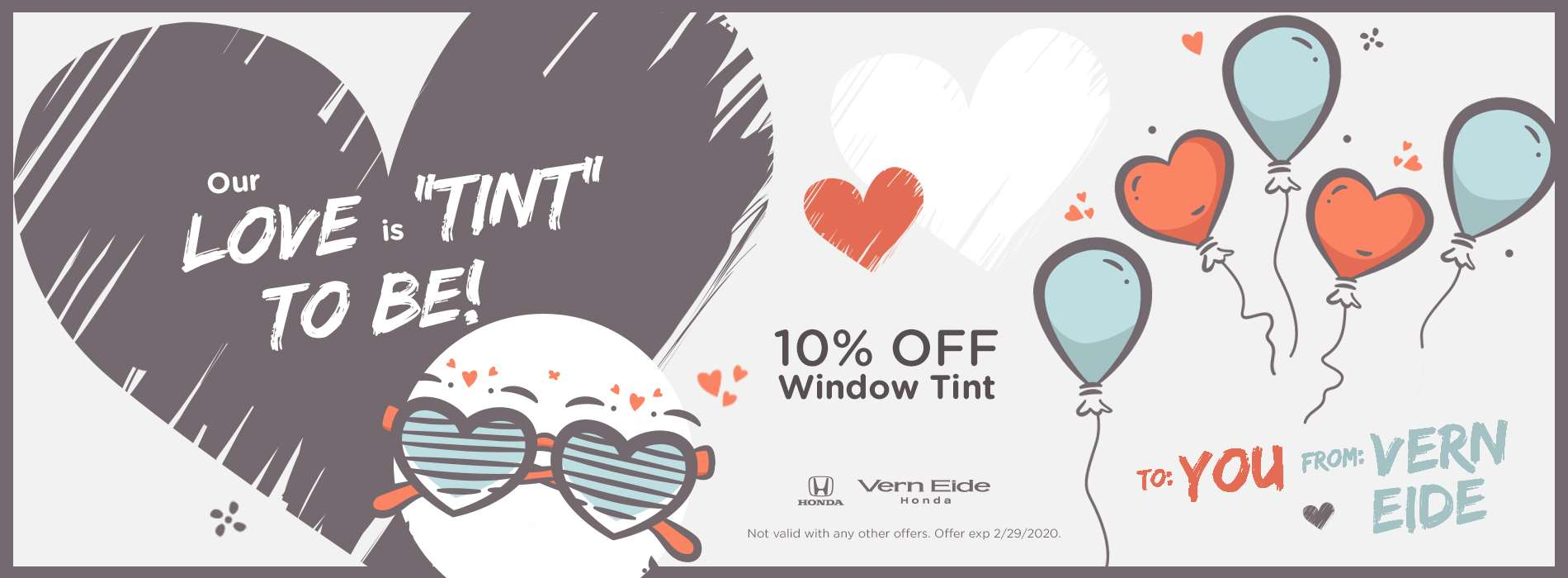 VHON - Window Tint Service - Feb 2020