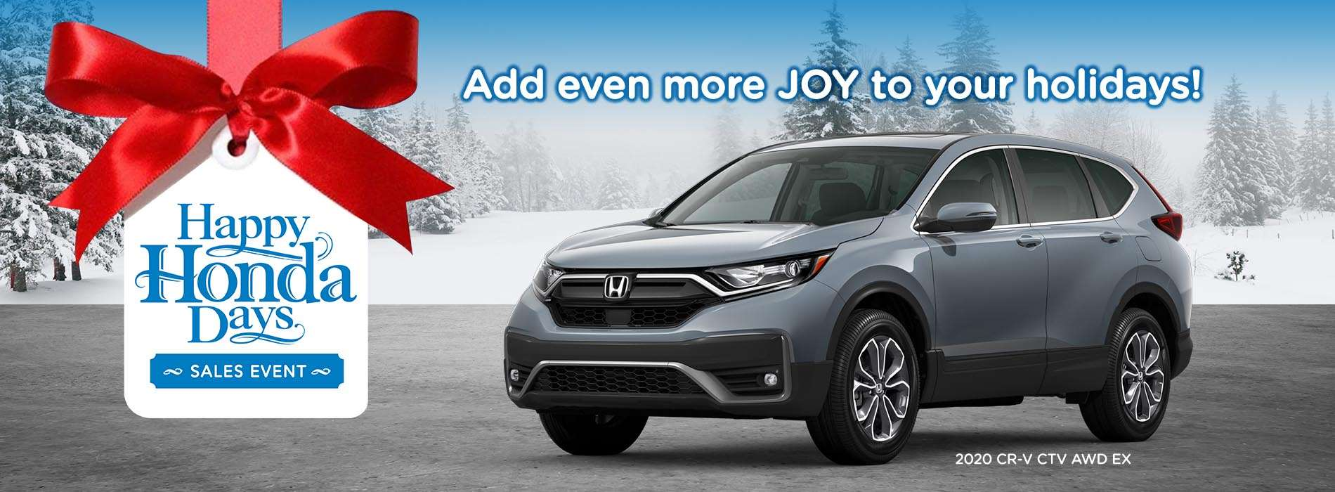 DLH - Happy Honda Days CRV - November 2020