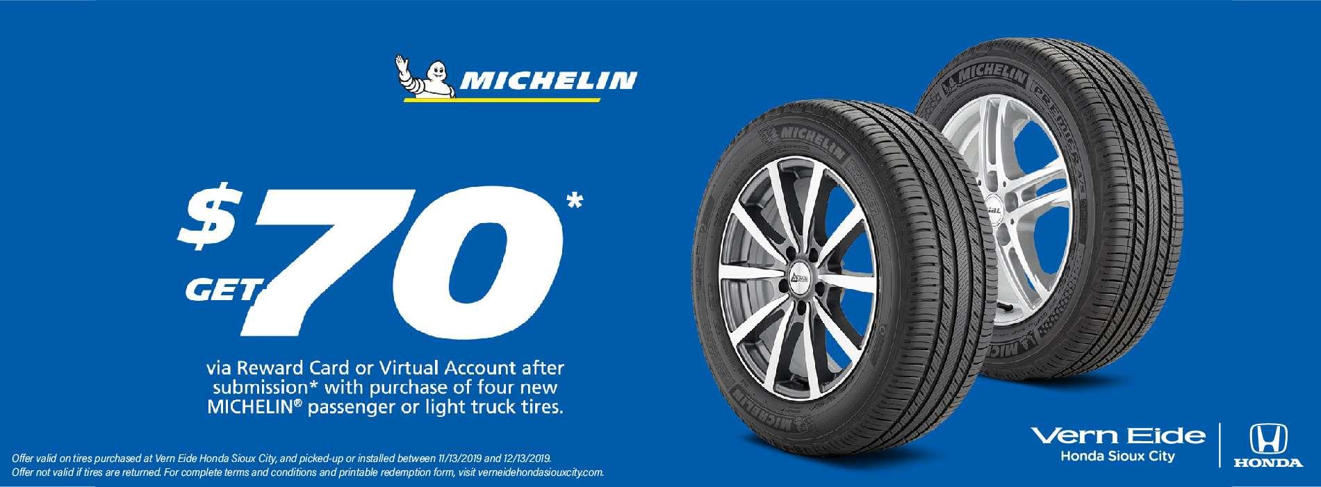 VESCH - Michelin Tires - Regular Banner - November 2019