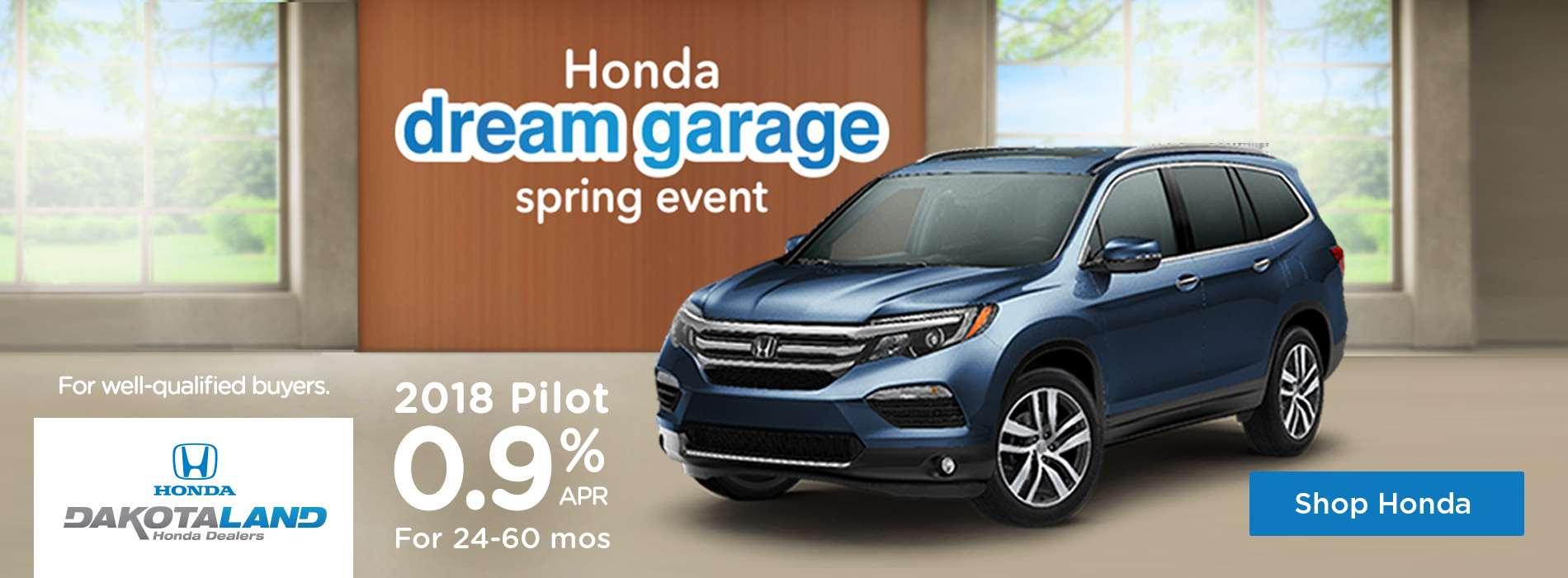 Honda Dream Garage Spring Event Pilot