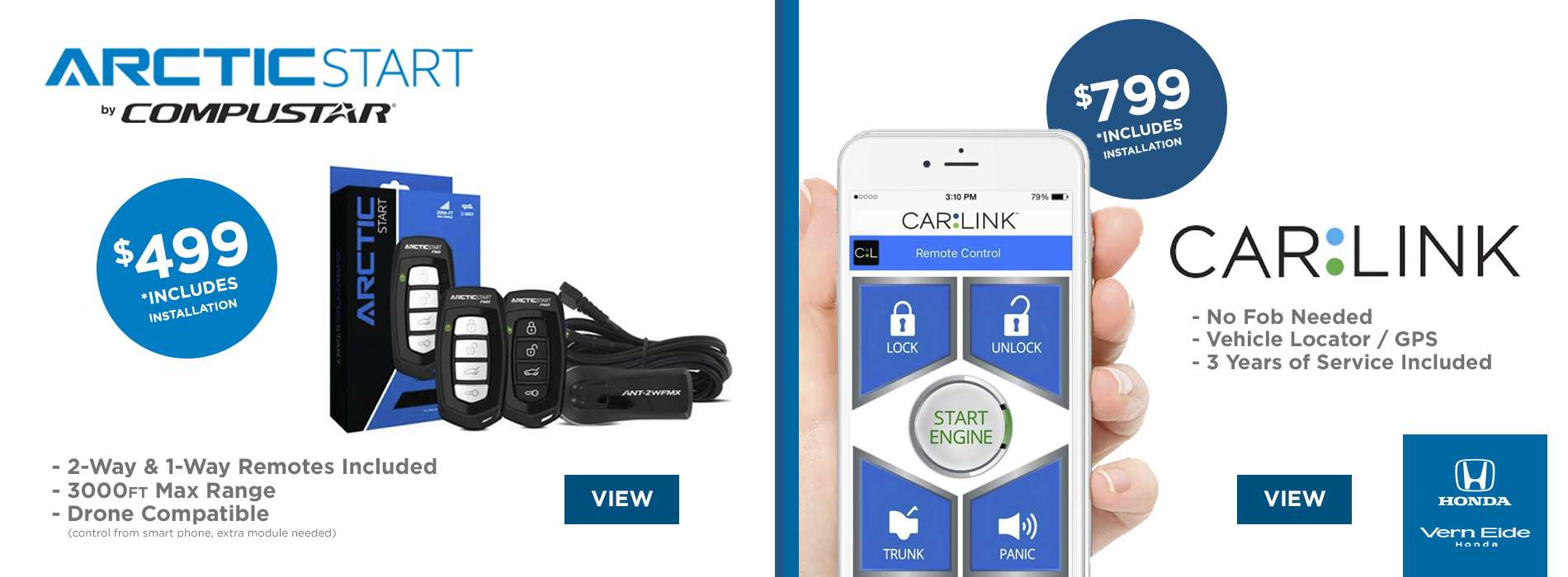 Remote Starts - Arctic Start & Carlink