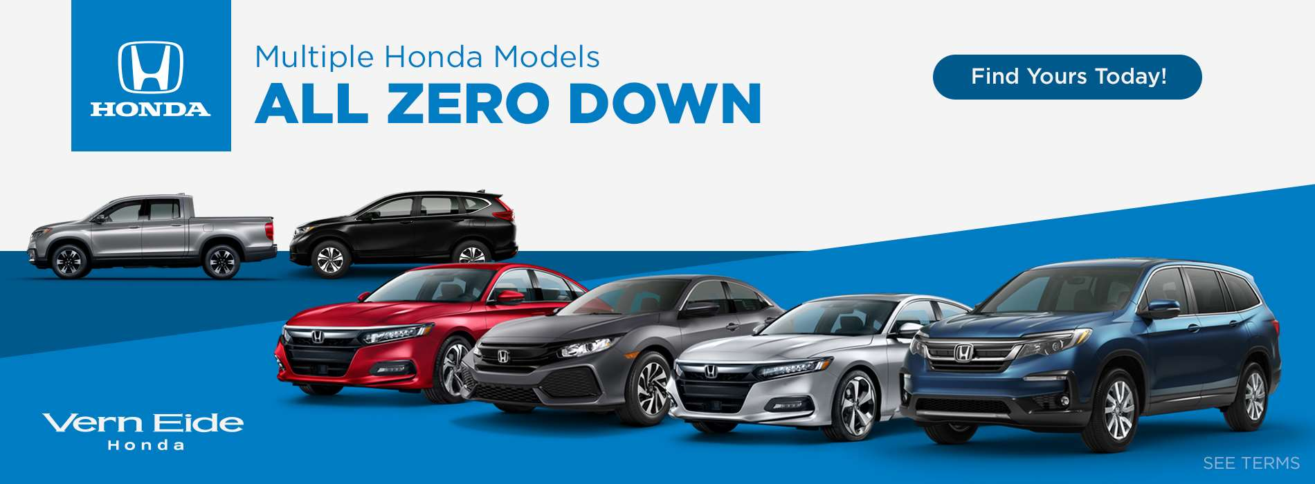 Multiple Models Zero Down - Nov 2018