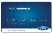 GET A $50 REBATE BY MAIL WHEN YOU USE YOUR FORD SERVICE CREDIT CARD TO MAKE A QUALIFYING PURCHASE OF $250 OR MORE (BEFORE TAX).*