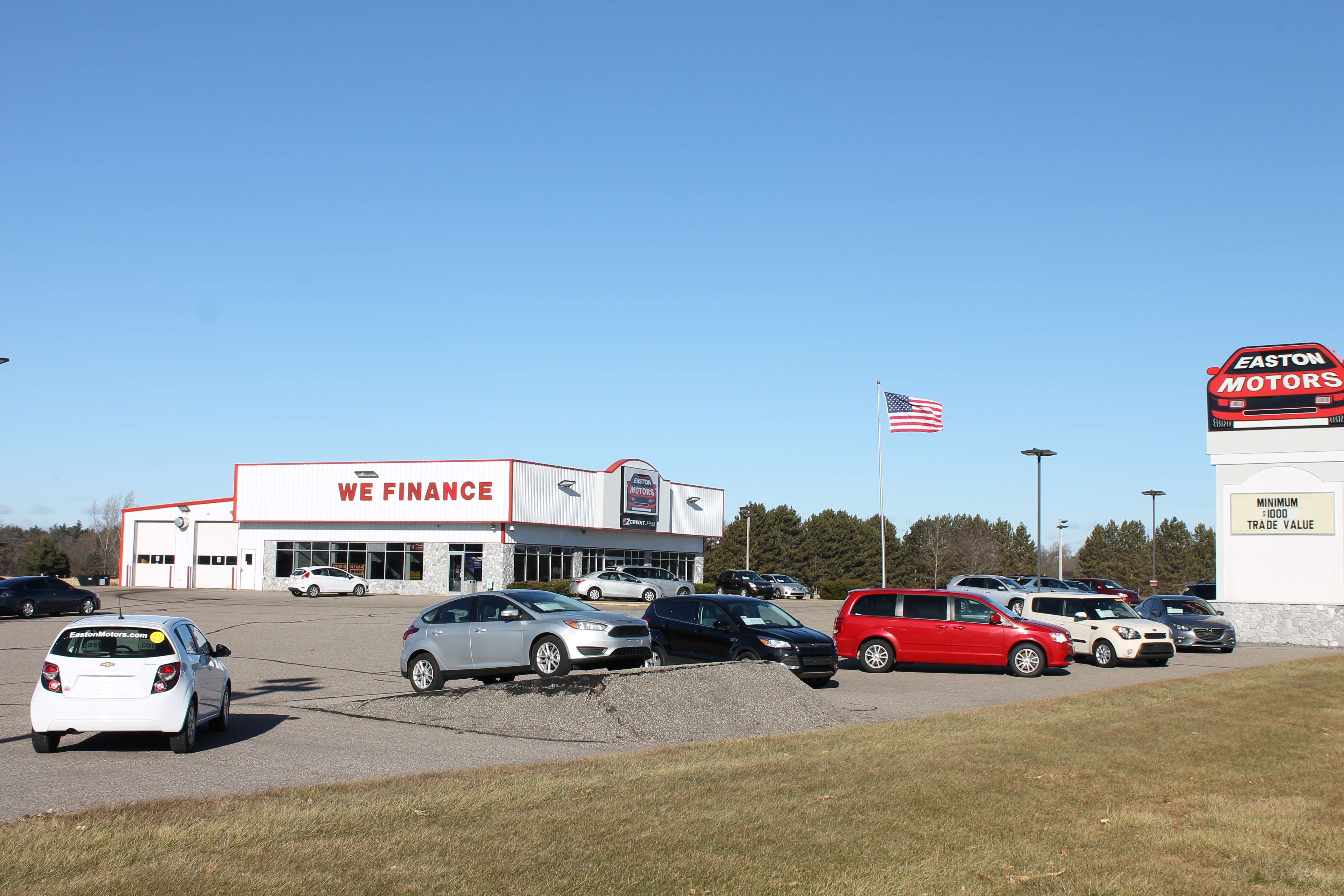 Easton Motors of Adams: Discovering the Center of It All