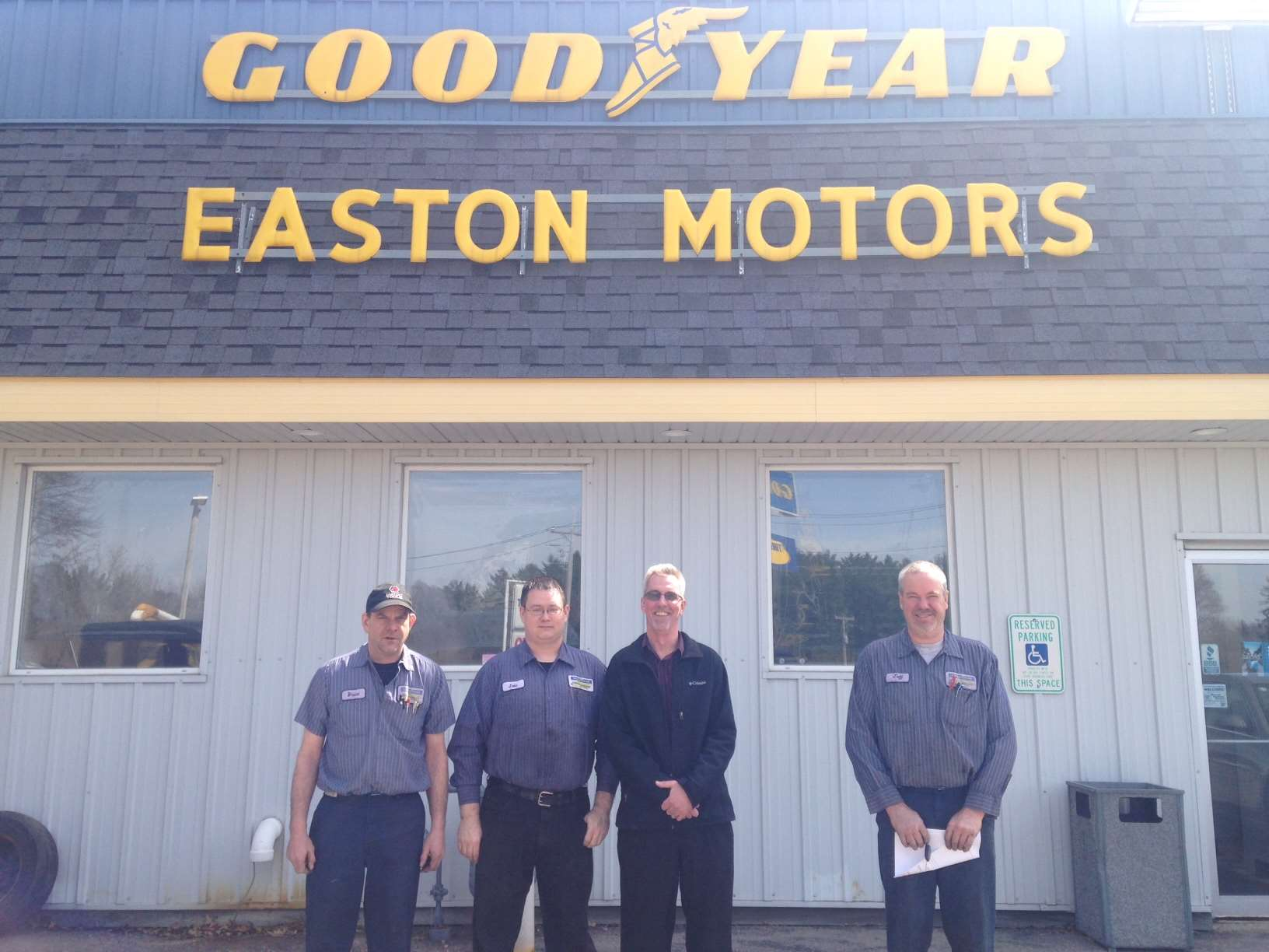 Discover Easton Motors / Goodyear Tire & Service Network