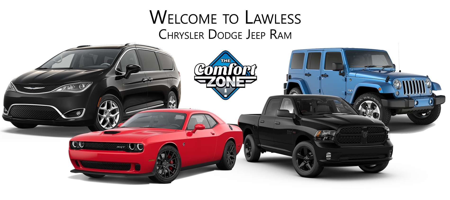 Lawless Chrysler Dodge Jeep Ram Dealer Woburn MA