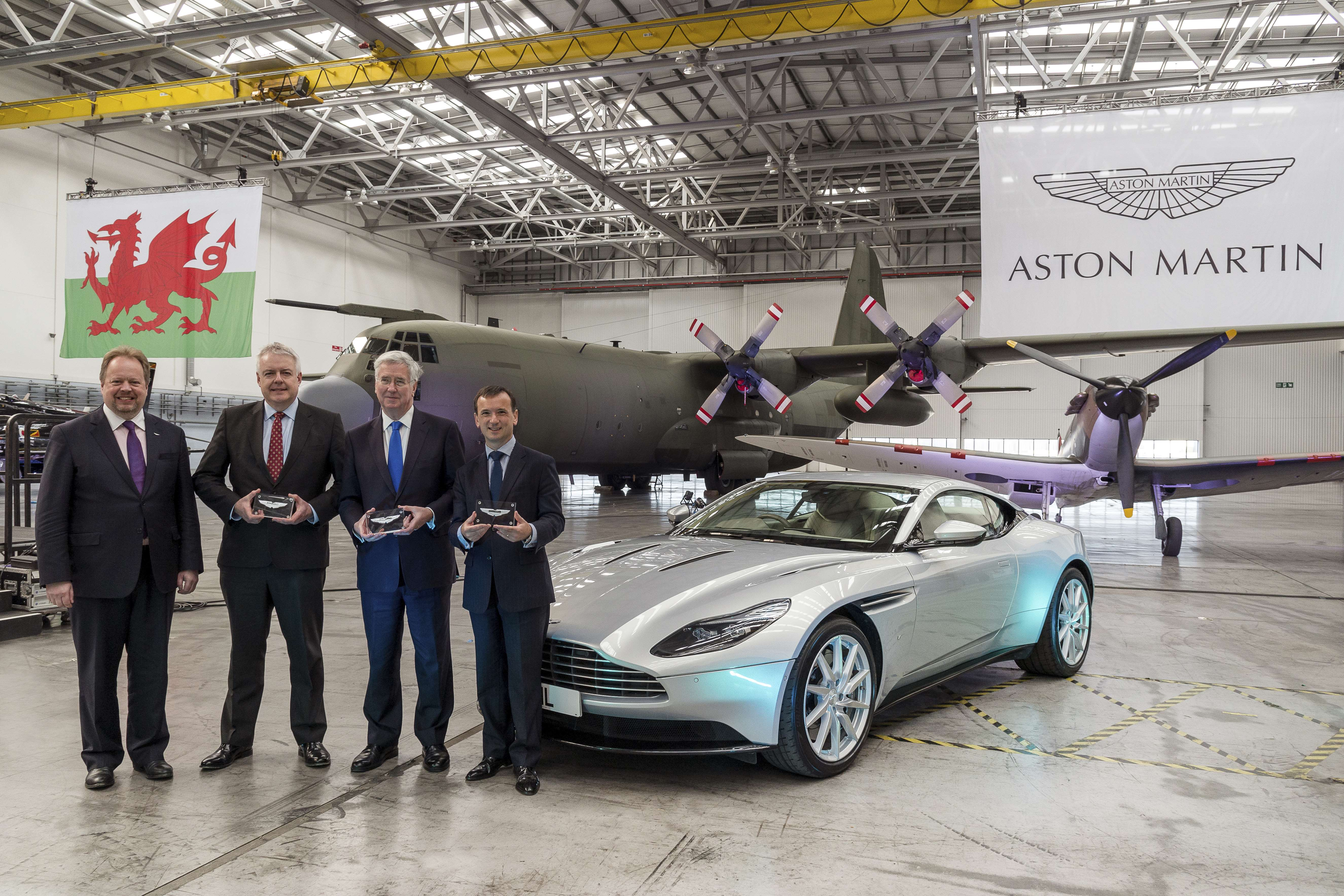 Aston Martin Starts Conversion of St Athen Facility Ahead of SUV Production