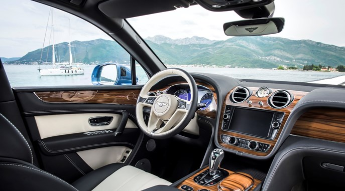 Bentley awarded its first Wards 10 Best Interiors Award