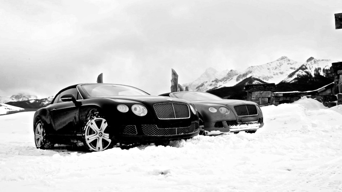 Wintertime Driving in the Bentley GT V8 S Convertible