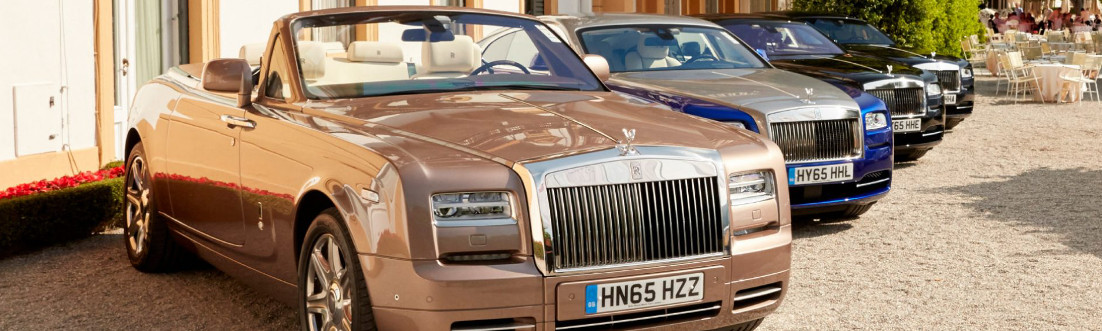 Rolls-Royce Showcases New and Old Models at Concorso d'Eleganza Villa d'Este