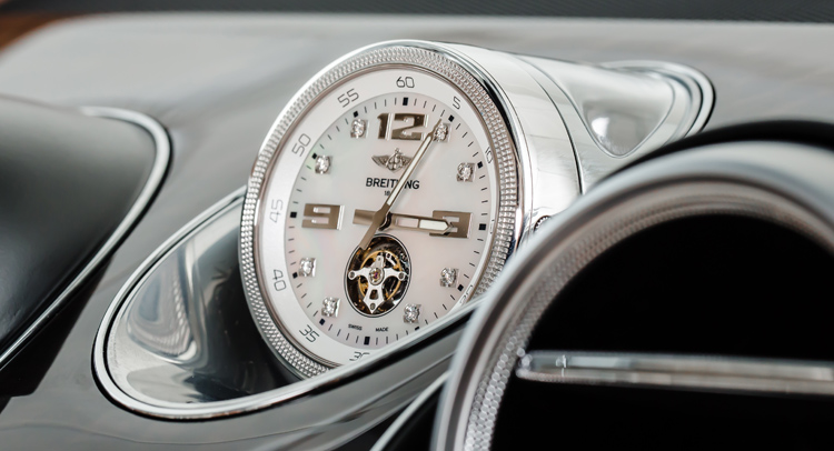 Bentley Bentayga Offers World's Most Expensive Dashboard Clock