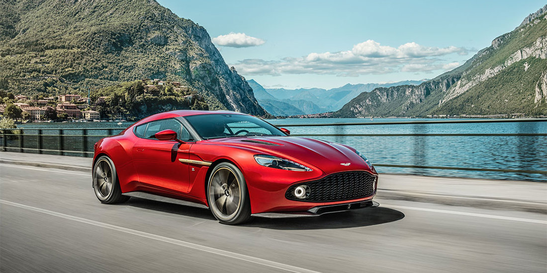 Aston Martin Displays Newest Zagato Collaboration At Concorso d'Eleganza Villa d'Este