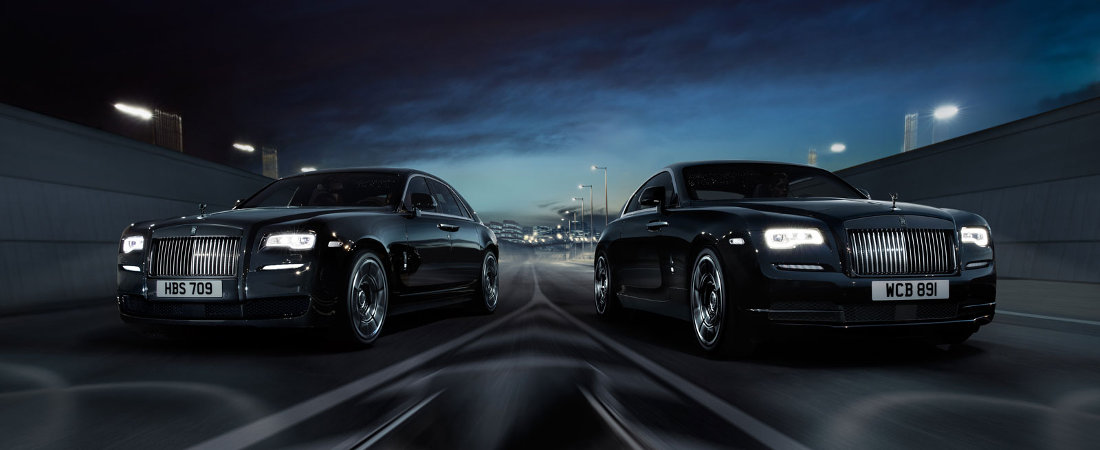 Rolls-Royce Unveils Their Black Badge Line At Goodwood Festival Of Speed