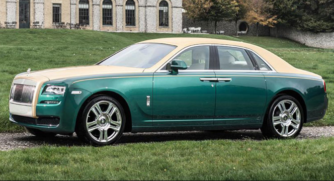 The Rolls-Royce Ghost Golf Edition Is Way Above Par