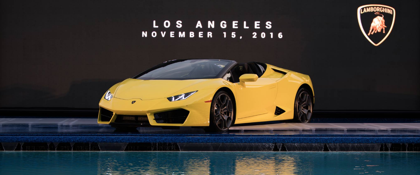 The Lamborghini Huracán Rear-Wheel Drive Spyder: thrilling open-air driving