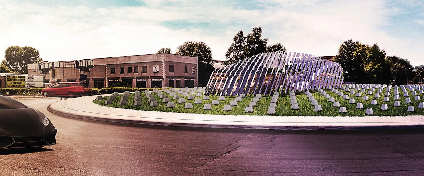 """Lamborghini Road Monument"" Competition Winners Announced"