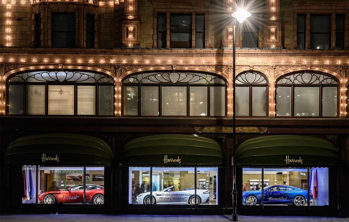 Aston Martin Window Shopping