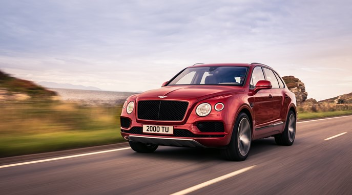 Performance and Precision: Bentley Bentayga V8