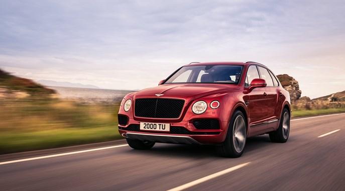 Performance and Precision: Bentley Bentayga V8