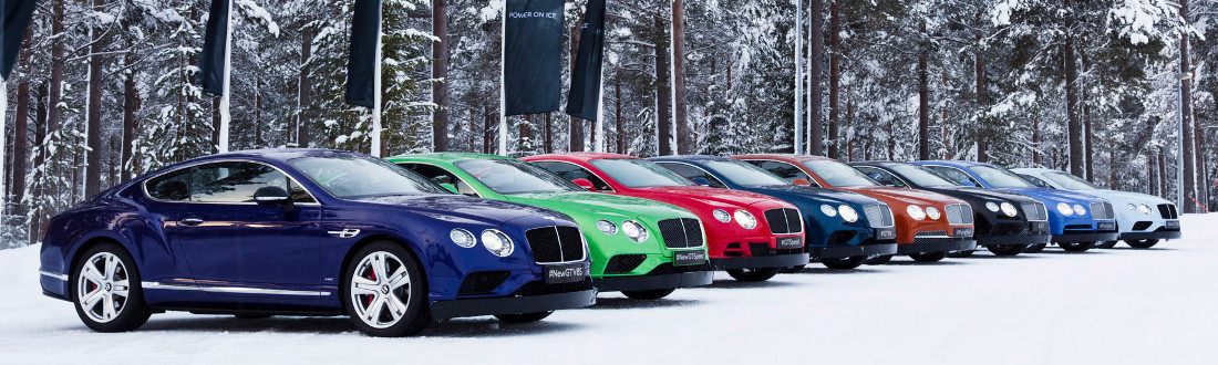 Conquer Driving on Ice with Bentley