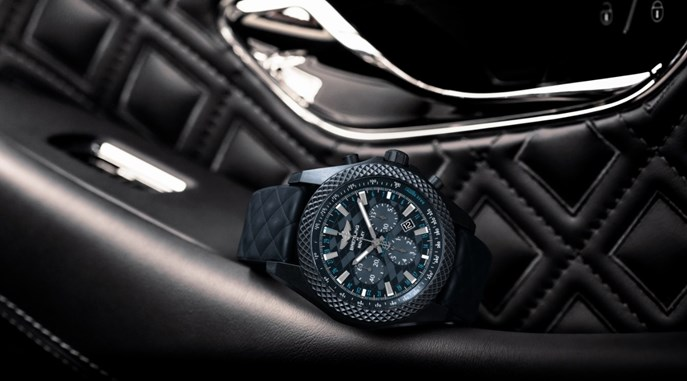 BREITLING FOR BENTLEY INTRODUCES BENTLEY GT DARK SAPPHIRE EDITION