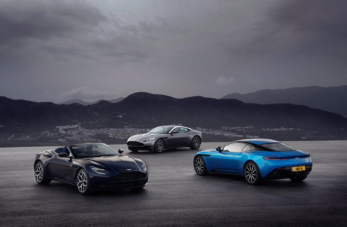 Celebrating 70 years of the Aston Martin DB bloodline