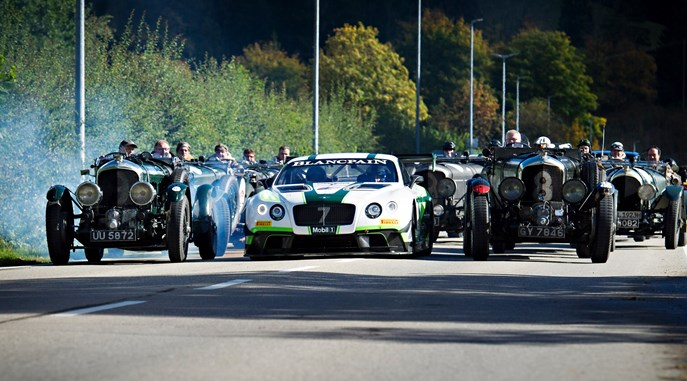 Historic Bentleys successfully complete the famous Jochpass Oldtimer Memorial race