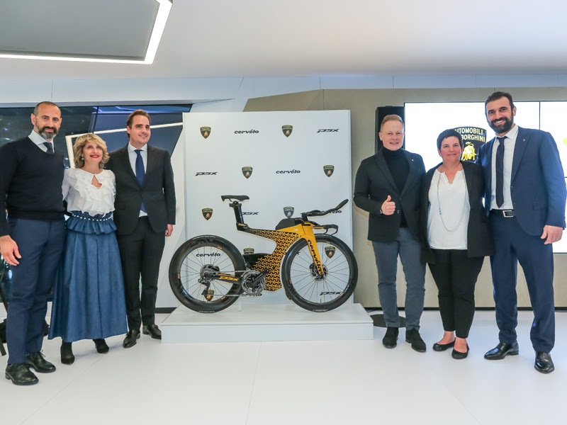 Lamborghini and Cervélo join forces on limited-edition P5X