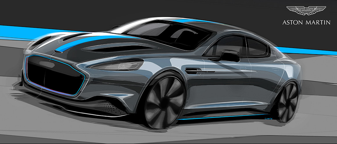 Aston Martin Confirms All-Electric RapidE