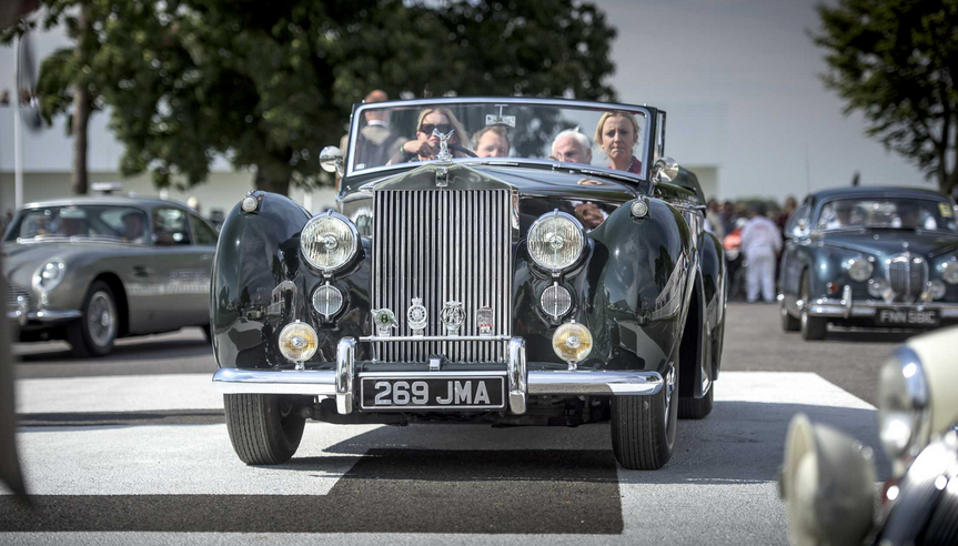 Rolls-Royce Celebrates Goodwood Revival