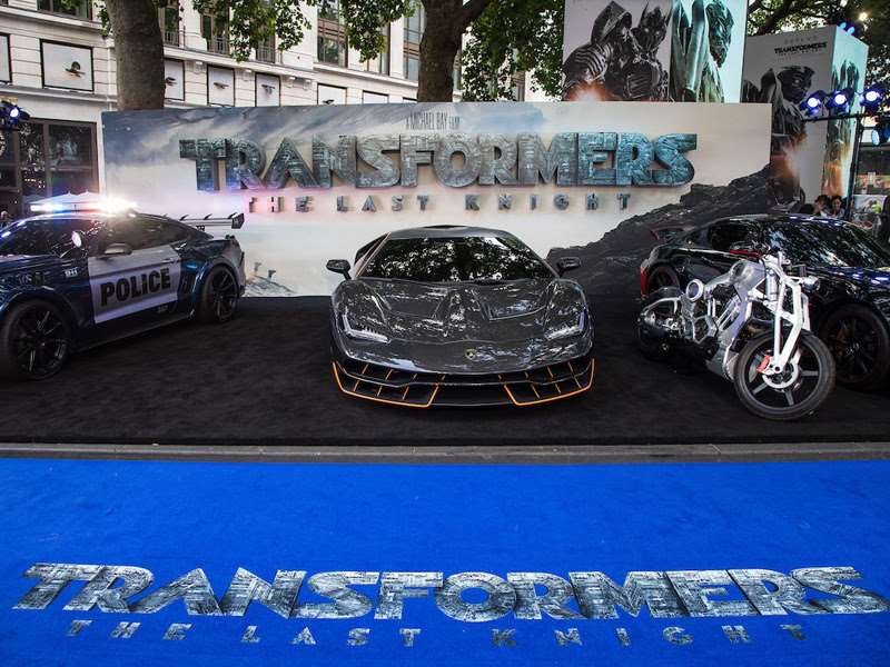"The Lamborghini Centenario at the London Premiere of ""Transformers: The Last Knight"""