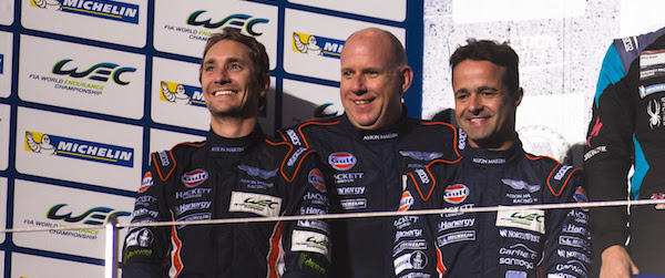 Aston Martin takes GTE Am podium in Fuji