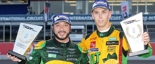 Aston Martin wins GT Asia Series
