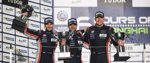 Aston Martin takes GTE AM Podium in Shanghai