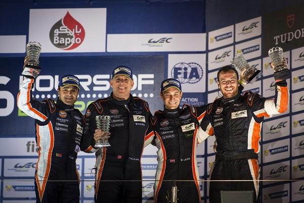 Aston Martin Celebrates GTE AM Win at FIA WEC Season Finale