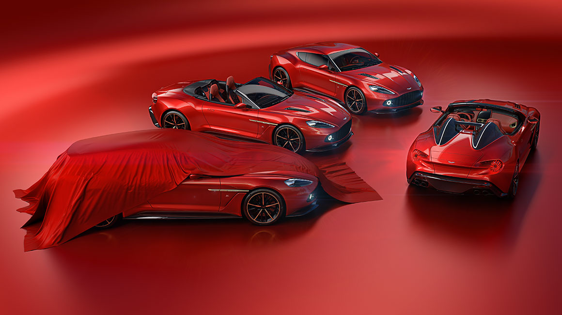 The Vanquish Zagatos: Speedster and Shooting Brake join Coupe and Volante to complete quartet