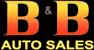 B and B Auto Sales Logo